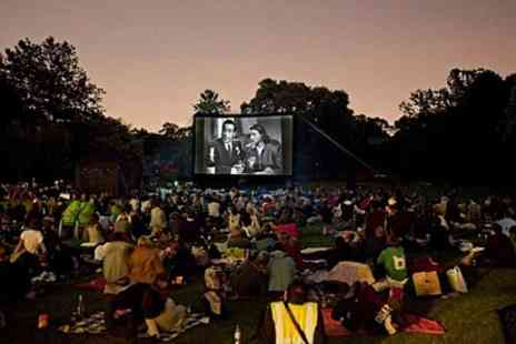 Backyard Cinema - Outdoor Screening of Grease and Entry to Disco For Two  - Save 52%