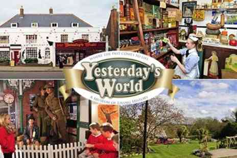 Yesterdays World - Great Day out  Fun packed museum with a huge garden and unique outdoor play area/mini village & tea room - Save 52%