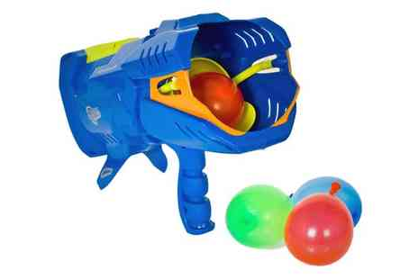 Plaspac - Aqua Force Water Balloon Bomb Launcher - Save 33%