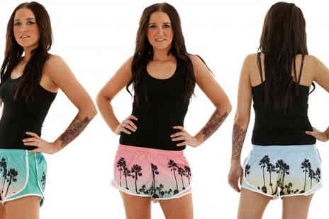 Gaffer Deals - Three Pack of Ladies Hawaiian Shorts in a Choice of Colours - Save 27%