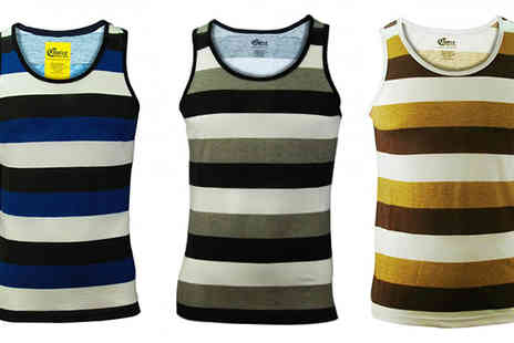 Gaffer Deals - Three Pack of Mens Vests - Save 25%