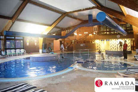 Ramada Hotel - Leisure Club Pass Including Access to Swimming Pool, Spa Pool, Steam Room, and Sauna for Two - Save 53%