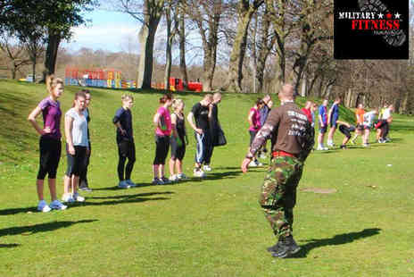 Military Fitness Training - Six Hour Long Military Fitness Classes - Save 60%