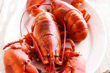 The Lavender Restaurant and Bar - Seafood Tasting Menu with a Whole Lobster for Two  - Save 52%
