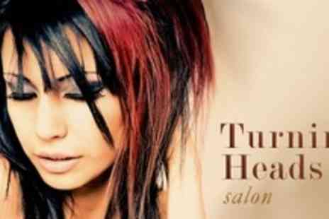Turning Heads Salon - Full Head of Colour or Half Head of Highlights Plus Cut or Restyle - Save 72%