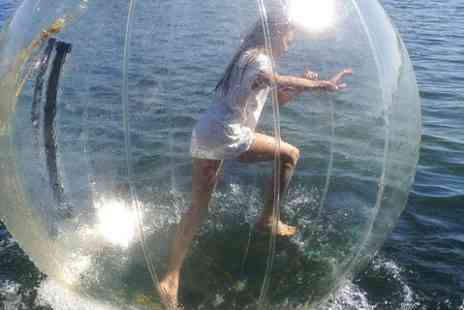 Dynamic Pursuits - Water Zorbing Session For One - Save 50%