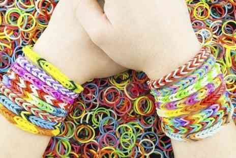 London Textiles Studio - Loom Bracelet Workshop and Kit - Save 52%