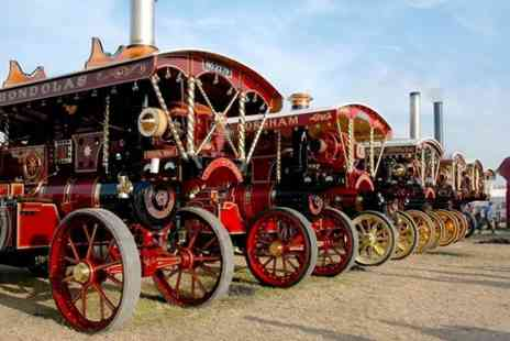 Great Dorset Steam Fair - Entry For Two at Great Dorset Steam Fair  - Save 53%