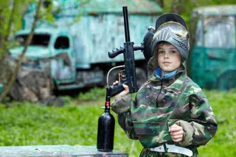 Hamburger Hill - Half day junior paintballing session - Save 50%