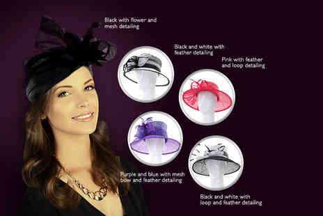 MRRAY - Choice of fascinators  choose from 17 styles - Save 60%