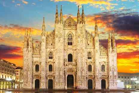 iFly Holidays - Two night Milan break including flights and breakfast - Save 41%