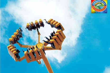 Lightwater Valley - Entry to Theme Park with Four Queue Jumps and a Meal Deal for One Person Under 1m in Heigh - Save 30%