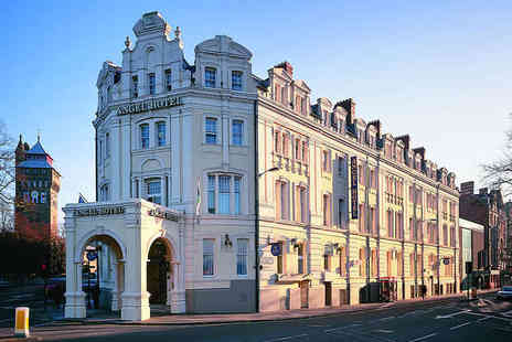 The Angel Hotel - One  Night Stay for Two at Four Star Cardiff City Centre Hotel - Save 52%