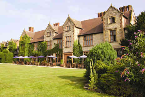 The Billesley Manor Hotel - One Night Stay with Dinner for Two People - Save 46%