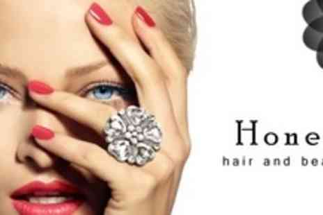 Honey Hair and Beauty - Two Shellac Manicures - Save 60%