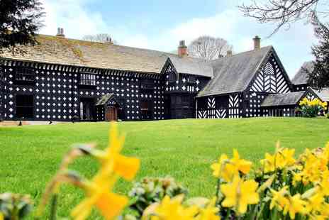 Samlesbury Hall - House and Gardens Annual Pass for two - Save 67%