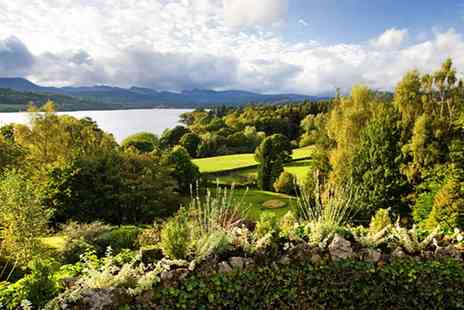 Miller Howe Hotel - Overnight Stay for two in Windermere - Save 48%