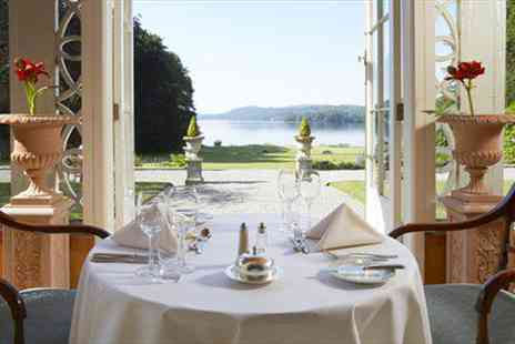 Storrs Hall Hotel -  Dinner & Champagne for 2 with Sensational Views - Save 21%