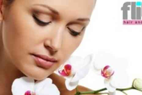 Flitz Hair and Beauty - Choice of One Hour Dermalogica Facial With Spa Access - Save 65%