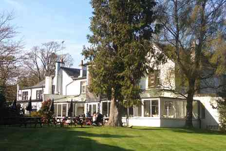 The Killearn Hotel -  Scotland Stay near Loch Lomond with Meals  - Save 48%