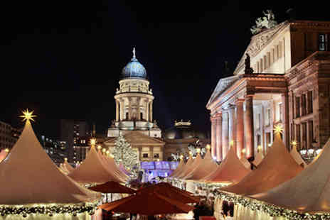 Blue Sea Holidays - Two Nights 4 star Berlin Christmas Market Getaway with Flights - Save 43%