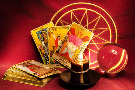 Shining Light - 30 minute clairvoyant, tarot or angel card reading - Save 80%
