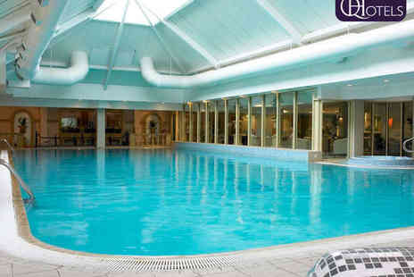 The Park Royal - Executive Spa Day with Back, Neck and Shoulder Massage, File and Polish, Health Club Facility Access and Cream Tea for One  - Save 55%