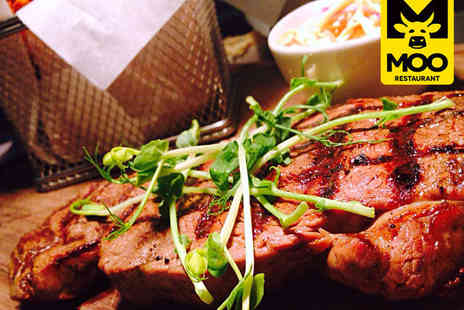 Moo Restaurant - Two Course Meal for Two for Lunch - Save 57%