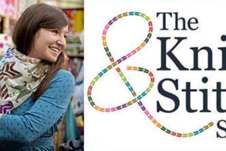 The Knitting & Stitching Show - Ticket to The Knitting & Stitching Show on October 8 for Adult - Save 25%
