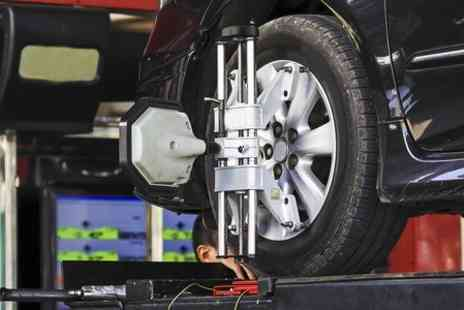 A140 Cars - 67 Point Service With Wheel Alignment and Valet  - Save 65%