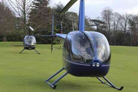 Northumbria Helicopters - Nine Mile Helicopter Buzz Flight - Save 50%