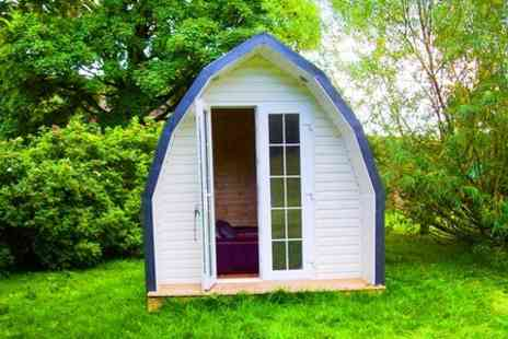 Medi Spa UK - One Night Camping Pod Stay For Two  - Save 50%