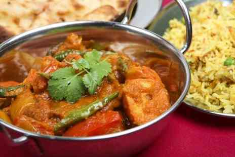 Ignite - Two Course Indian Meal For Two  - Save 66%