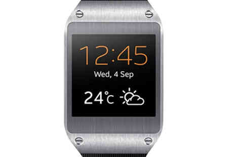 DooHickey Hut - Samsung SM V700 Galaxy Gear Smart Watch - Save 68%