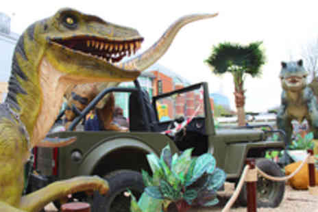 German Events - Dinosaur Themed Adventure Mini Golf for a Family or Four Adults - Save 44%