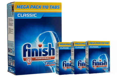 Plaspac - 440 Finish Dishwasher Tablets - Save 63%