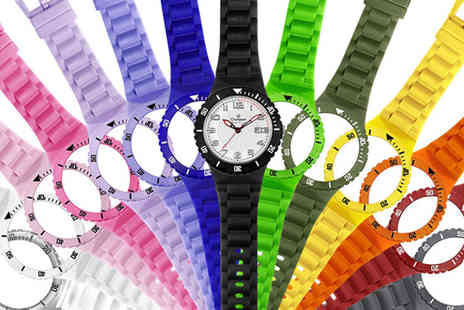 SVB Trading - Bright and Colourful Silicone Watch Set - Save 55%