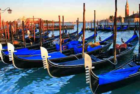 Crystal Travel - Two  Nights 4star Venice Break with Breakfast and Flights - Save 51%