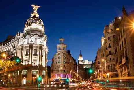 Travel Unravel Holidays Private - Two night 3 star Hotel Break in Madrid with Flights and Breakfast - Save 40%