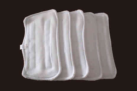 All Gifts 4 U - Pack of Three Steam Mop Pads in Choice of Sizes - Save 61%
