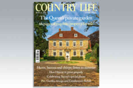 IPC Media - 12 Month Weekly Subscription to Country Life Magazine - Save 32%