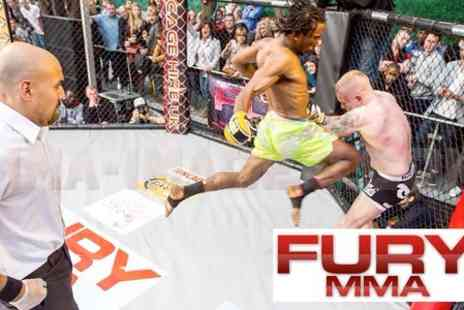 Fury MMA - Ticket to Outdoor Show - Save 30%