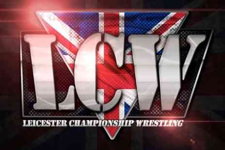Leicester Championship Wrestling - Leicester Championship Wrestling Face Off For One Child or Adult - Save 20%