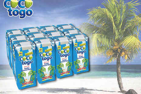 coco togo - 12 Cartons of Coconut Water - Save 46%