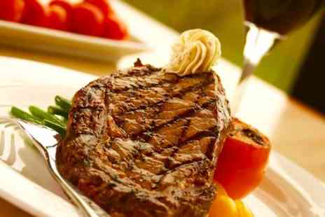 Signature Steakhouse - Rib Eye Steak With Wine - Save 57%