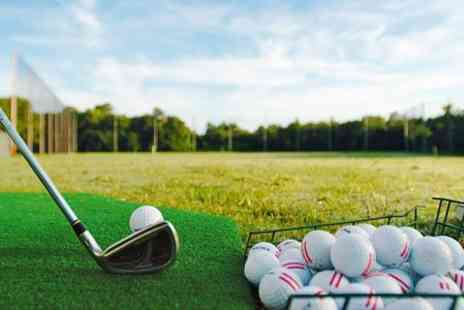 World of Golf - 150 Range Balls and Club Hire - Save 59%
