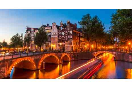 Enjoy Holidays - Two Nights in Amsterdam 4 star Hotel B&B  Inc Flights  - Save 60%