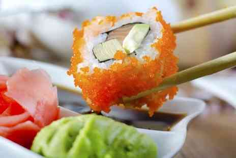 Veku - Three hour sushi making class plus lunch or dinner - Save 50%