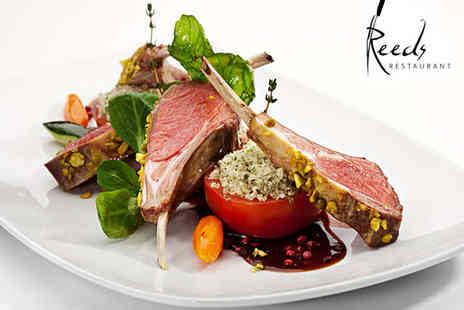 Reeds Restuarant - Three Course Meal for Two  - Save 60%