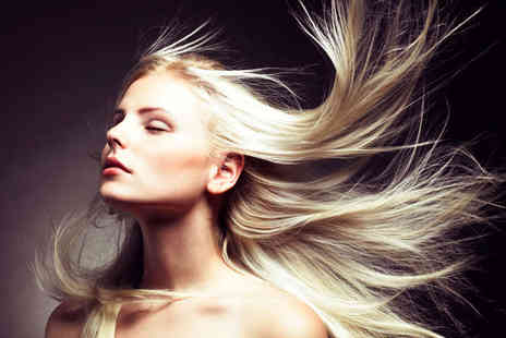 The VIP Lounge - Haircut, Finish, TIGI Conditioning Treatment, with a Full-Head of Colour  - Save 52%